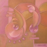 """carré rose 1"" 30x30 - 2004"